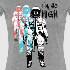 High Cosmonaut Flight Travel Trip - Women's Premium T-Shirt