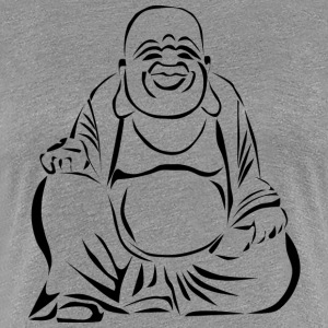 Happy Buddha - Premium-T-shirt dam