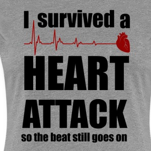 Heart attack - Women's Premium T-Shirt