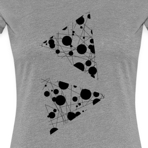 pizza - Premium-T-shirt dam