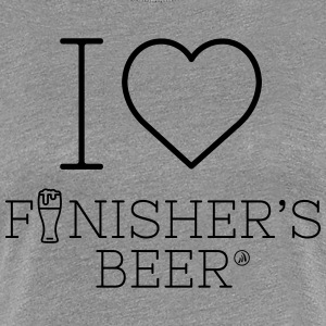 I love Finisher's Beer - Women's Premium T-Shirt