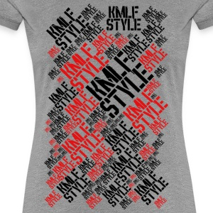 KMLF STYLE LONG graphics red 2 - Women's Premium T-Shirt