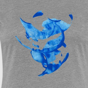 Blue circle - Women's Premium T-Shirt