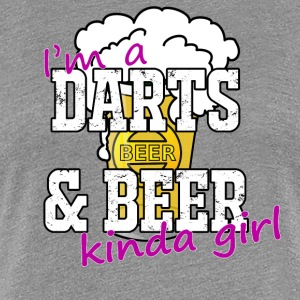 Darts and Beer T-Shirt - Women's Premium T-Shirt