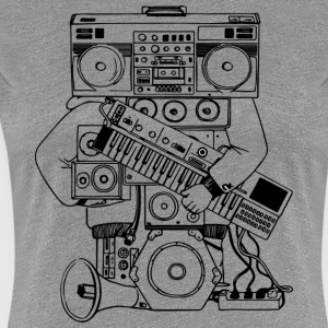 HIP-HOP MAN - RAP - SWAG - Frauen Premium T-Shirt