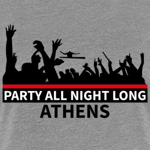 ATENE - Party All Night Long - Maglietta Premium da donna
