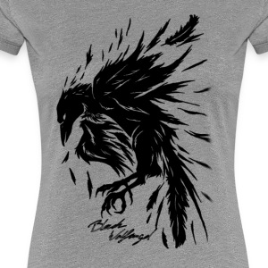 raven_tribal - Women's Premium T-Shirt