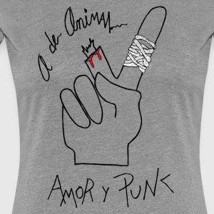 Love and Punk - Frauen Premium T-Shirt