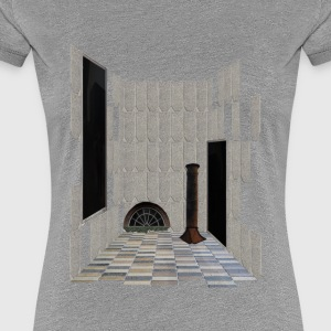 Carlsberg Architectural Collage 4 - Dame premium T-shirt