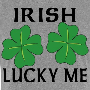Irish Lucky Me - Premium-T-shirt dam