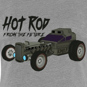 Hot Rod from the future v3 style Kmlf - Women's Premium T-Shirt