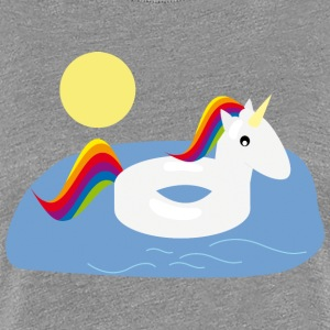 unicorn summer - Frauen Premium T-Shirt