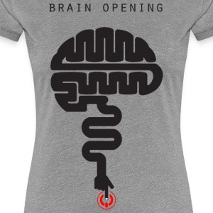 T-shirt-brain_file_stampa - Women's Premium T-Shirt