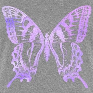 Watercolor Butterfly - T-shirt Premium Femme