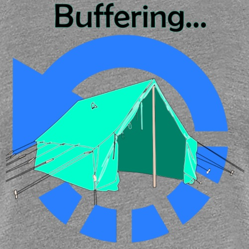 Guide Leader Buffering - Women's Premium T-Shirt
