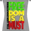 Freedom is a must - Women's Premium T-Shirt