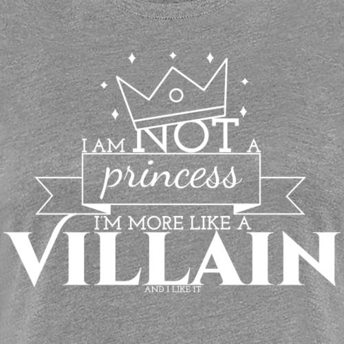 Je ne suis pas une princesse - T-shirt Premium Femme