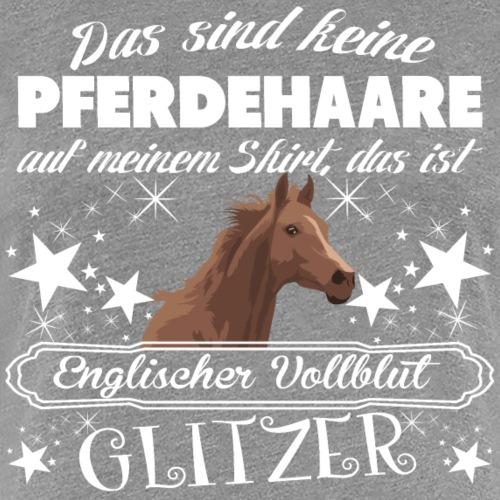 Englischer Vollblut - Frauen Premium T-Shirt