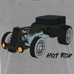 Hot Rode Kmlf - Dame premium T-shirt