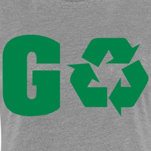Earth Day Recycle Go Green - Frauen Premium T-Shirt