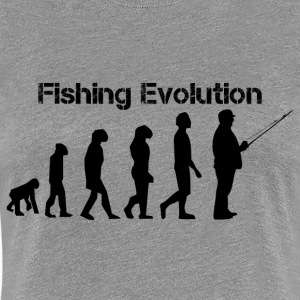 Fishing evolution - Women's Premium T-Shirt