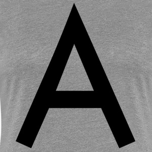 The A - Women's Premium T-Shirt