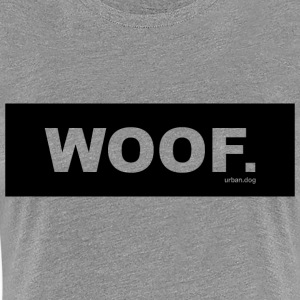 WOOF urban.dog Black - Premium-T-shirt dam