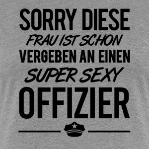 SUPER SEXY OFFIZIER - Frauen Premium T-Shirt