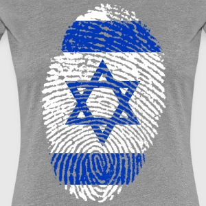 ISRAEL FINGERABDRUCK T-SHIRT - Frauen Premium T-Shirt