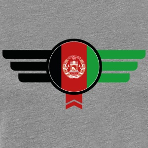 Afghanistan Vlag Insignia - Vrouwen Premium T-shirt