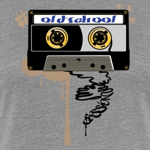 Old school session - Dame premium T-shirt