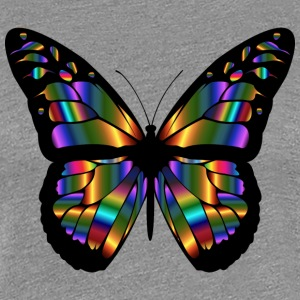 Butterfly - Abstract - Women's Premium T-Shirt