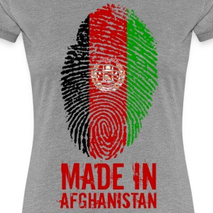 Made in Afghanistan / Gemacht in Afghanistan - Frauen Premium T-Shirt