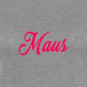 KIDS MAUS SWEATER by MAUS - Vrouwen Premium T-shirt