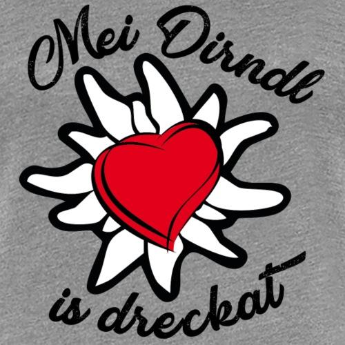 Oktoberfest Dirndl - Frauen Premium T-Shirt