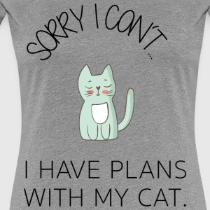 * Sorry I can not * - Cute Cat BESTSELLER - Women's Premium T-Shirt