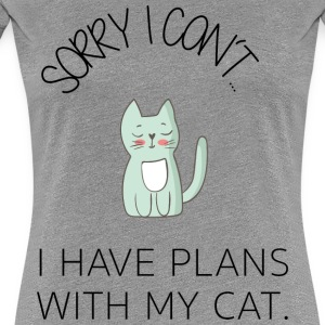 *Sorry I can't* - Cute Cat BESTSELLER - Frauen Premium T-Shirt