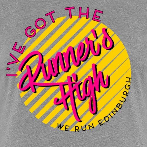RUNNERS HIGH - Women's Premium T-Shirt