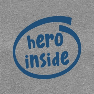 hero inside (1802C) - Women's Premium T-Shirt