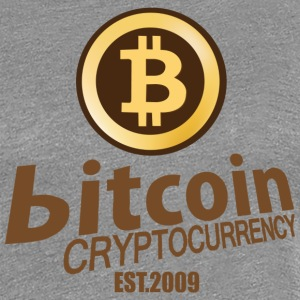 Bitcoin Cryptocurrency - Women's Premium T-Shirt
