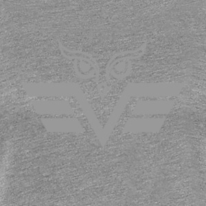 gray owl - Women's Premium T-Shirt
