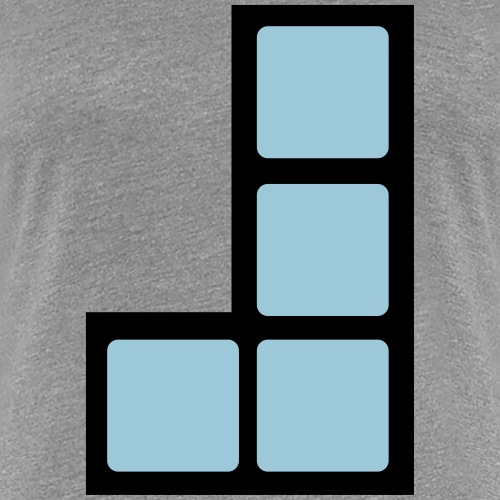 Computerspieleklassiker Block L - Frauen Premium T-Shirt