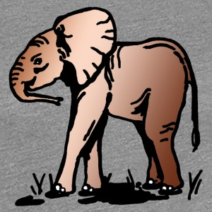 Little Elephant Africa - Women's Premium T-Shirt