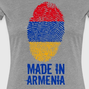 Made in Armenia / Gemacht in Armenien Հայաստան - Frauen Premium T-Shirt