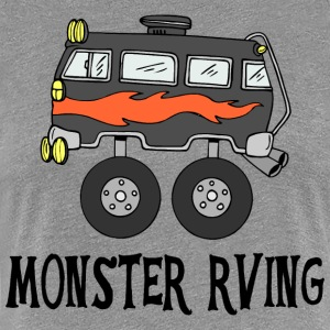 Monster RVing - Premium T-skjorte for kvinner