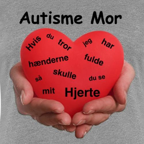AutismeMor - Dame premium T-shirt