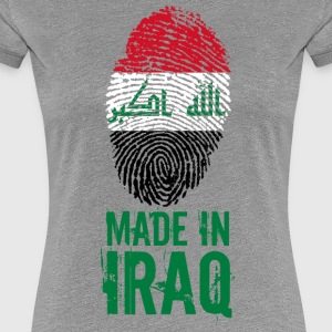 Made in Iraq / Gemacht in Irak العراق - Frauen Premium T-Shirt