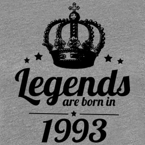 Legends 1993 - Premium T-skjorte for kvinner