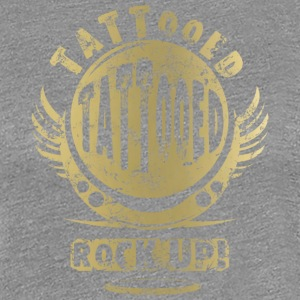 TATTOOED - GOLD - Frauen Premium T-Shirt