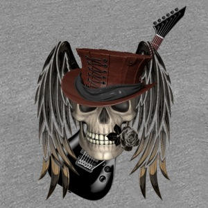 metall patch - Premium-T-shirt dam